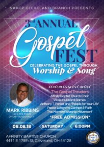 3rd Annual Gospelfest- FREE All Are Welcome @ Affinity Missionary Baptist Church